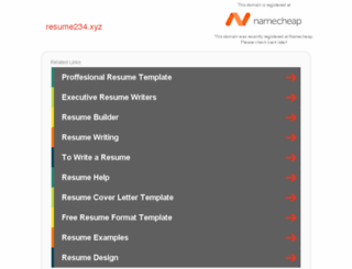 resume234.xyz screenshot