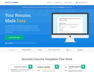 resumeexamplesweb.com screenshot