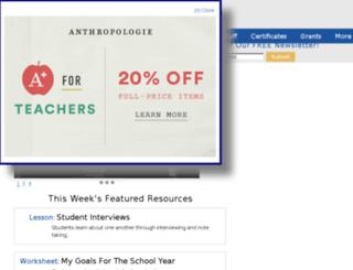 resumes4teachers.com screenshot