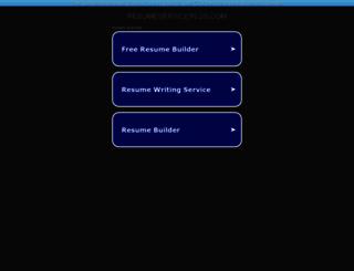 resumeserviceplus.com screenshot