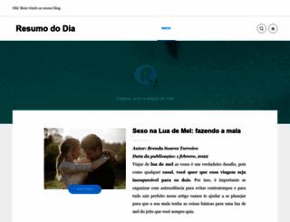 resumododia.com screenshot