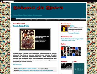 resumodopera.blogspot.com.br screenshot