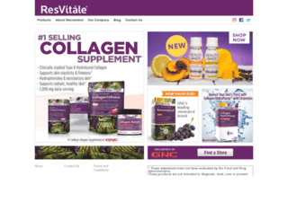 resvitale.com screenshot