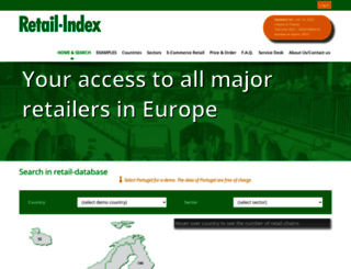 retail-index.com screenshot