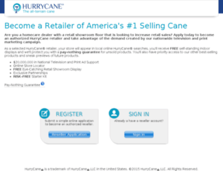 retail.hurrycane.com screenshot