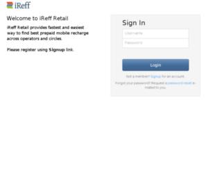retail.ireff.in screenshot