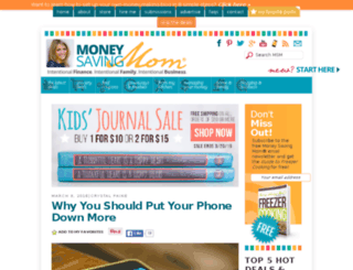 retail.moneysavingmom.com screenshot