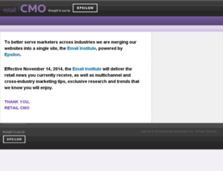 retailcmo.com screenshot