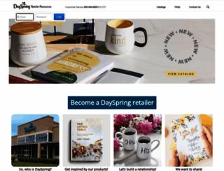 retailer.dayspring.com screenshot