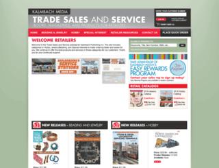 retailers.kalmbach.com screenshot