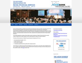 retailfs2013.asianbankerforums.com screenshot