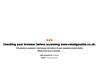retailgazette.co.uk screenshot