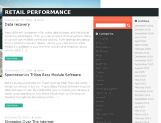 retailperformance.net screenshot