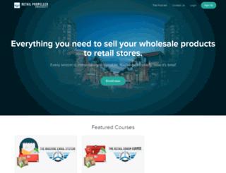 retailpropeller.usefedora.com screenshot