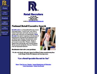 retailrecruitersusa.com screenshot