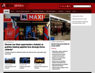retailserbia.com screenshot