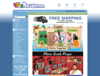 retailstore.makesparties.com screenshot