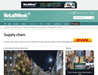 retailweeksupplychain.com screenshot