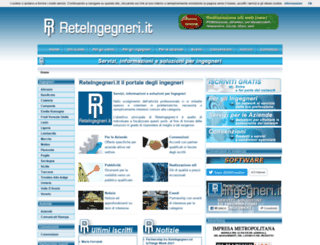 reteingegneri.it screenshot