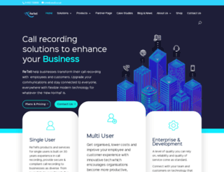 retellrecorders.co.uk screenshot