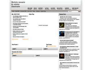 retete-online.blogspot.com screenshot