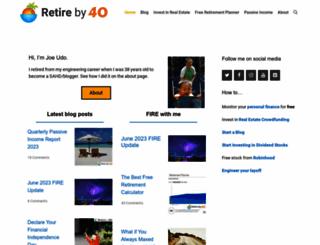 retireby40.org screenshot