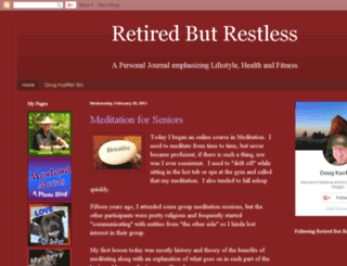 retiredbutrestless.blogspot.com screenshot