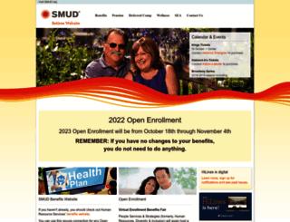 retiree.smud.org screenshot