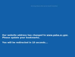 retirement.sc.gov screenshot