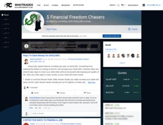 retirement.whotrades.com screenshot