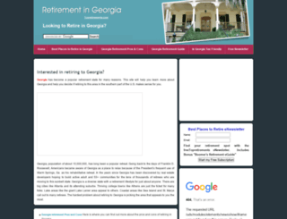 retirementingeorgia.com screenshot