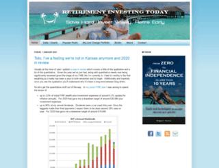 retirementinvestingtoday.com screenshot