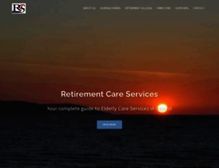 retirementservices.ie screenshot