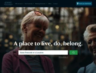 retirementvillages.co.uk screenshot