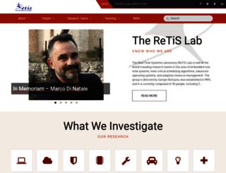 retis.sssup.it screenshot