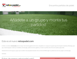 retospadel.com screenshot