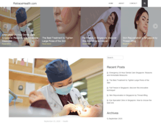 retracehealth.com screenshot