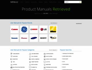 retrevo.com screenshot