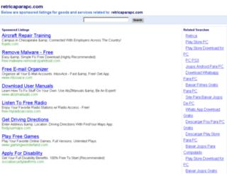 retricaparapc.com screenshot