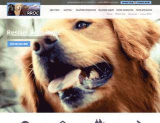 retrieverrescueofcolorado.com screenshot