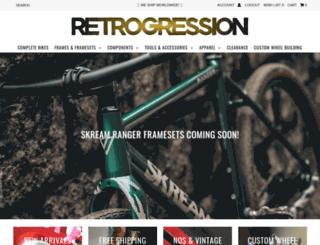 retro-gression.com screenshot