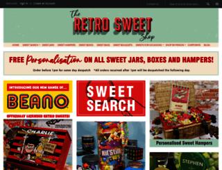 retro-sweet.co.uk screenshot