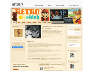 retro.network.hu screenshot