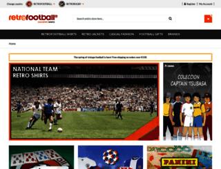 retrofootball.eu screenshot