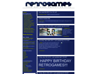 retrogames.com screenshot