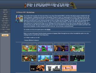retrogamezone.co.uk screenshot