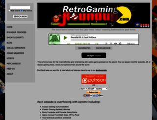 retrogamingroundup.com screenshot