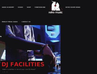 retromusic.co.za screenshot