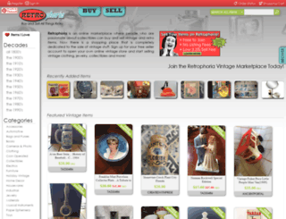 retrophoria.com screenshot