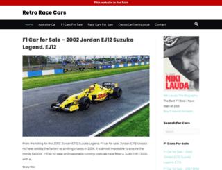 retroracecars.com screenshot